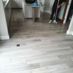 Clean tiles and grout