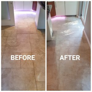 stone tile and grout cleaning